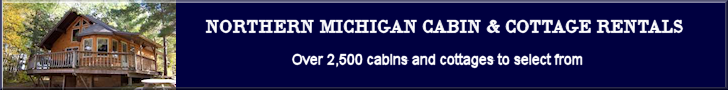 Banner - Northern Michigan Cabin Rentals 728x90
