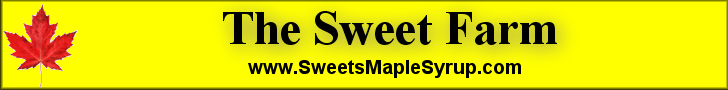 Banner - Sweets Maple Syrup
