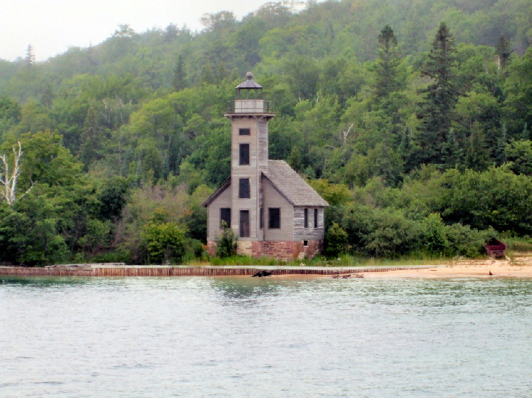 Grand Islad East Channel Light at Munising