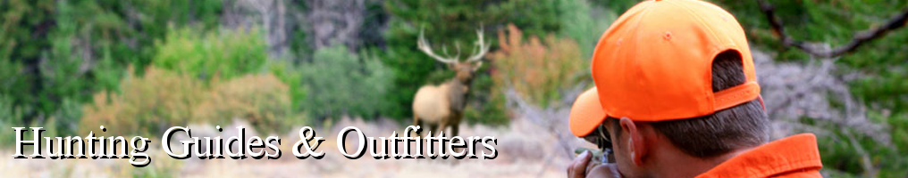Masthead - Hunting Guides & Outfitters