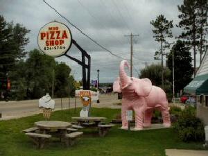 Mio Pizza Pink Elephant
